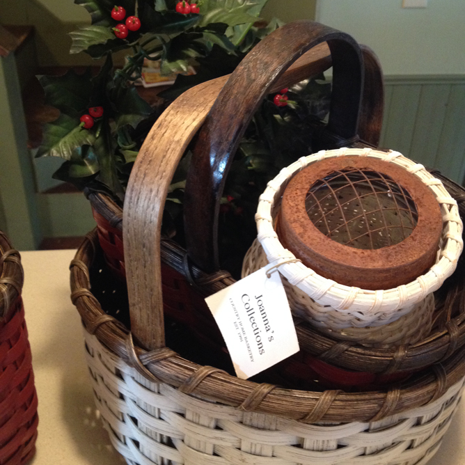 Extra baskets for decorating