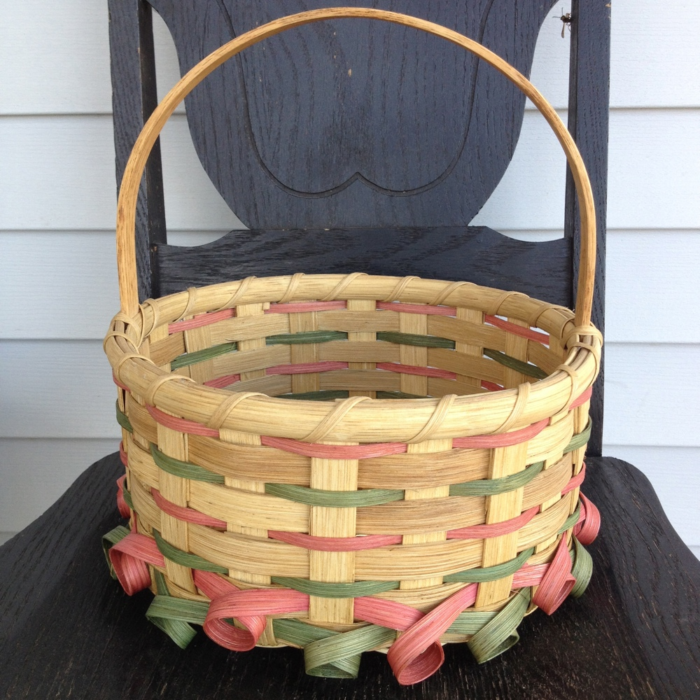Curlicue Easter Basket