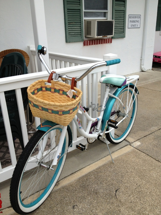 Custom Colors Bike Basket