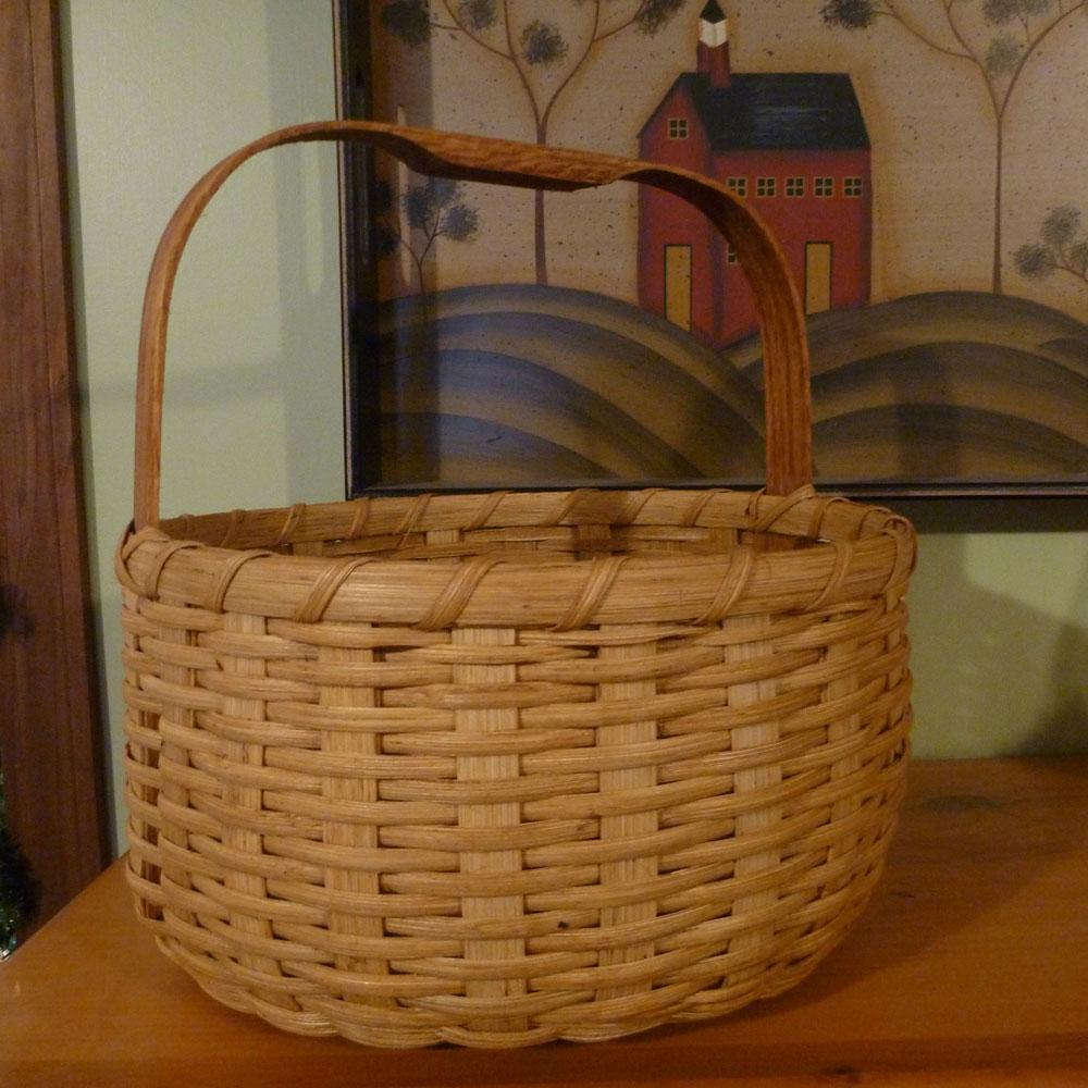 Double Bottom Round Basket