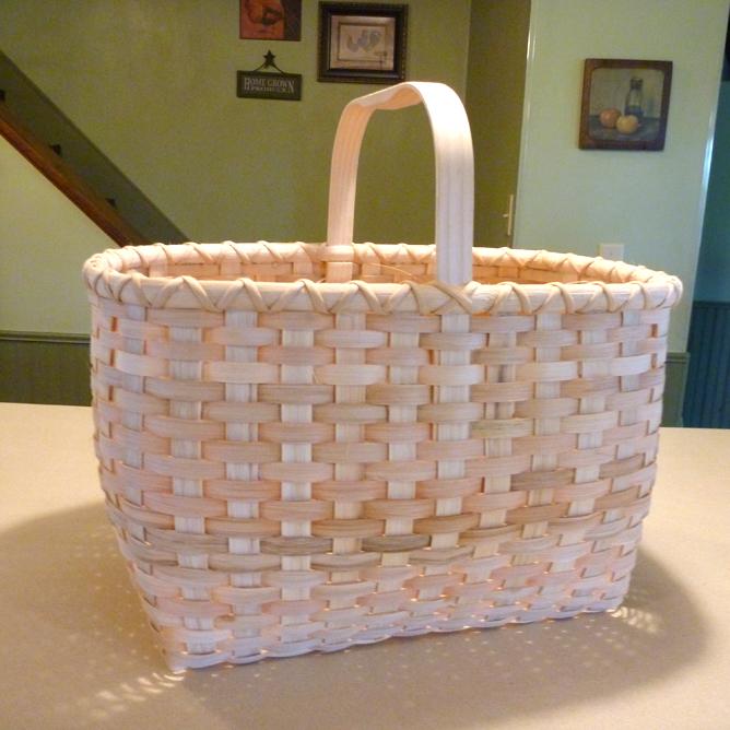 Finshed basket!