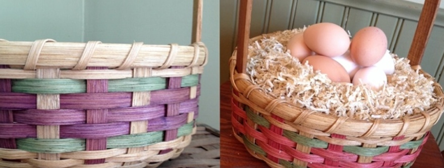 Fair Isle Easter Baskets