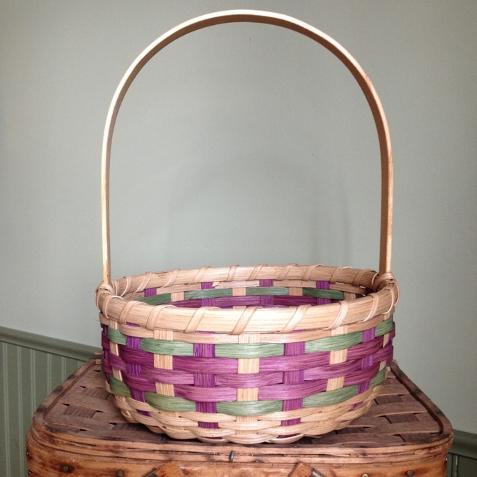 Fair Isle Easter Basket