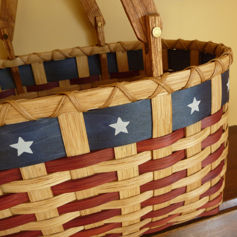 Patriot Picnic Basket