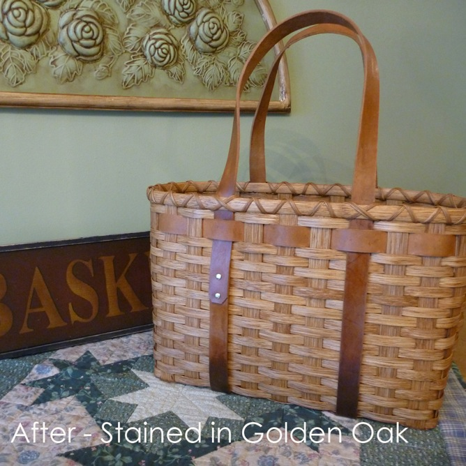 Stained basket