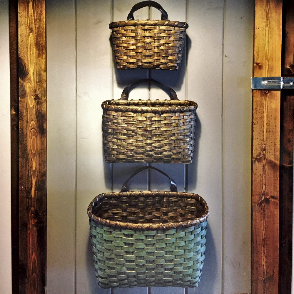 Three Mail Baskets