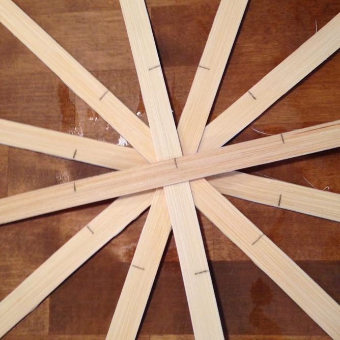 Spokes create a circle