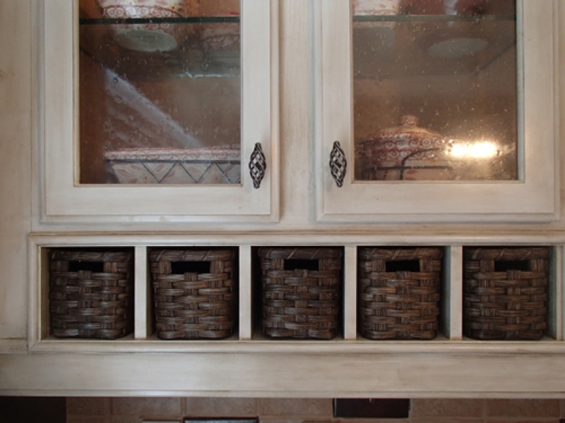 Kitchen Cubby Baskets