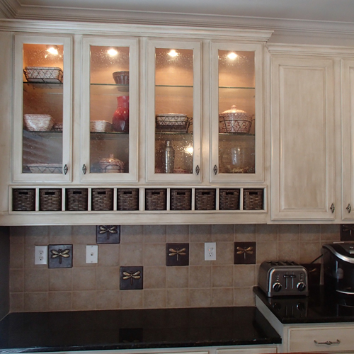 Re-finished Kitchen Cabinets