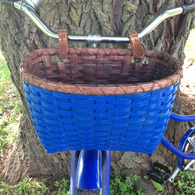 Bicycle Basket - Painted