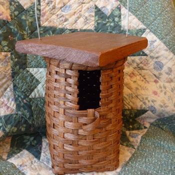 Birdhouse Basket