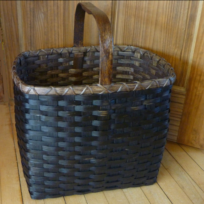 Black Grungy Basket