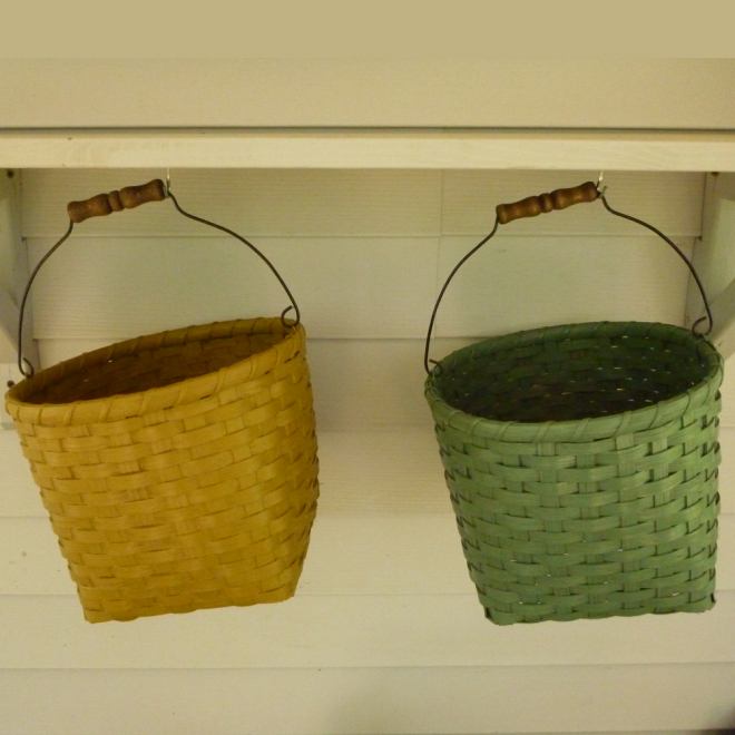 Clothes Pin Basket