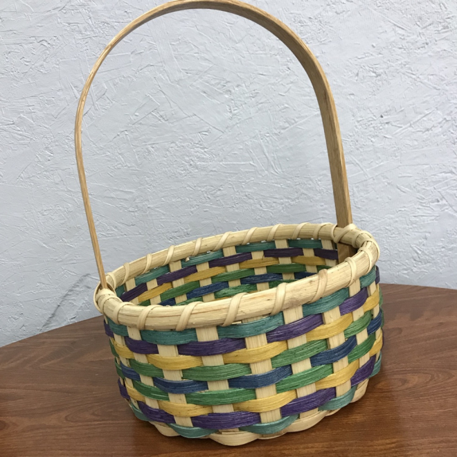 Colorful Easter Basket - Tall