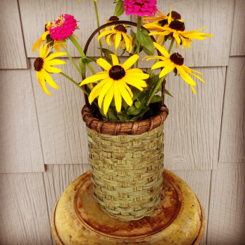 Country Flower Vase Basket