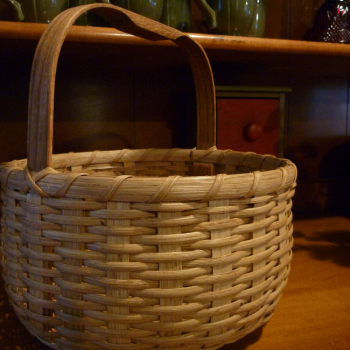 Double Bottom Round Basket