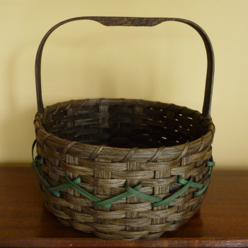 Embroidered Basket