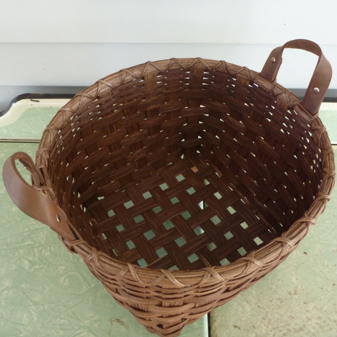 Footed Storage Basket