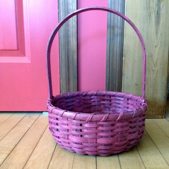 Grungy Easter Basket