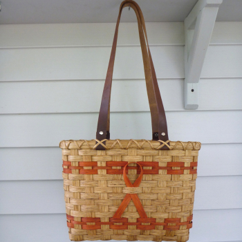 Leukemia Awareness Tote Basket