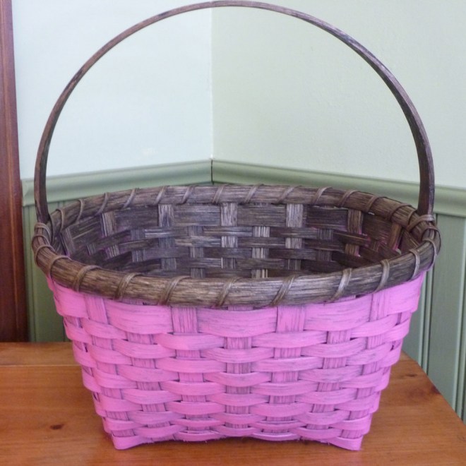 Painted Easter Basket
