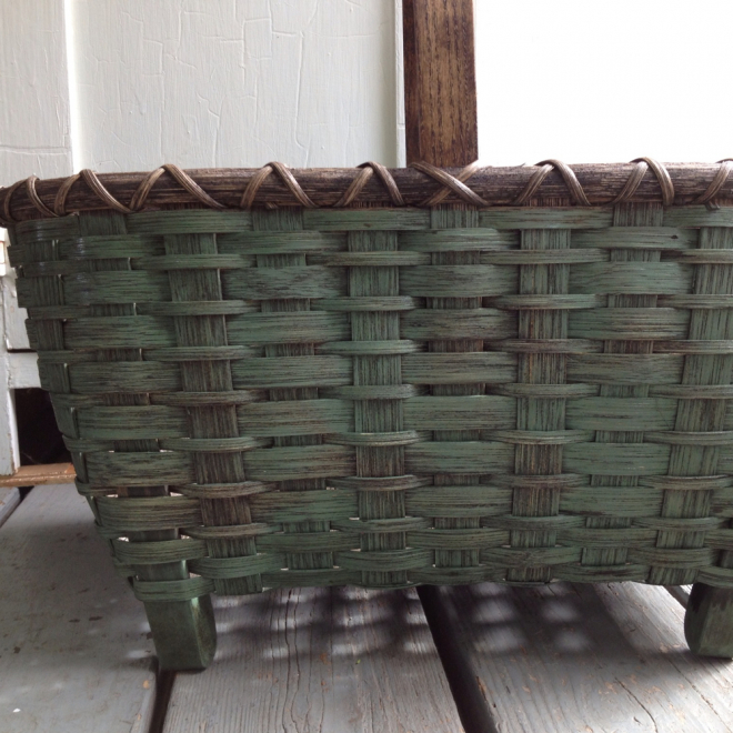 Colonial Chair Basket - Painted