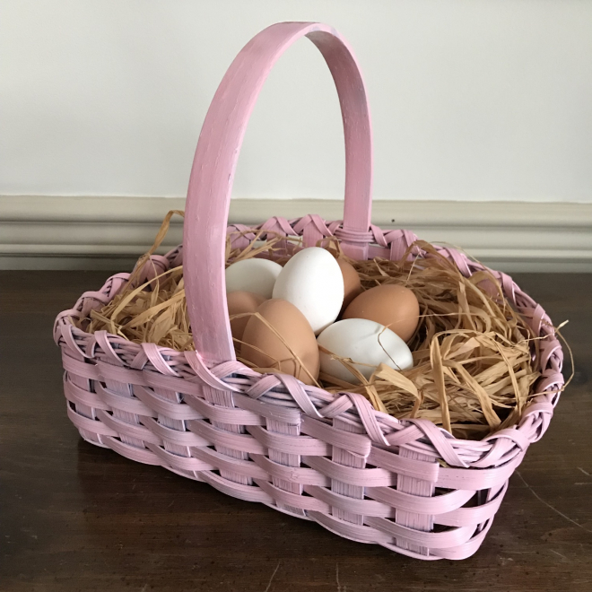 Pastel Easter Basket