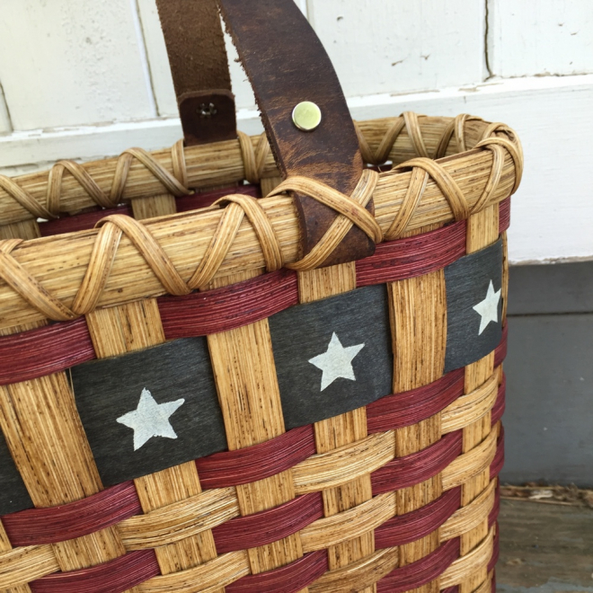 Patriot Tote Basket