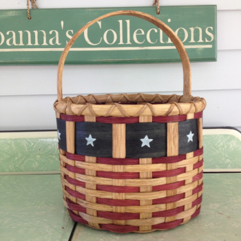 Patriot Round Basket