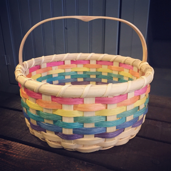 Rainbow Easter Basket