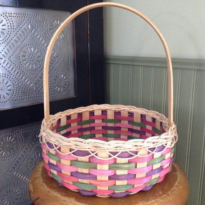 Victorian Easter Basket - Large
