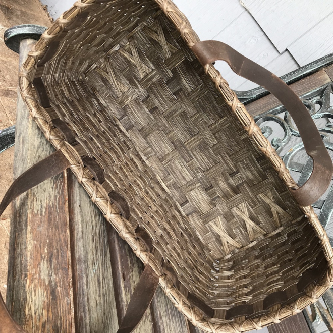 Wood Carver's Tool Tote Basket