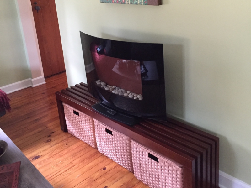 TV Stand Baskets